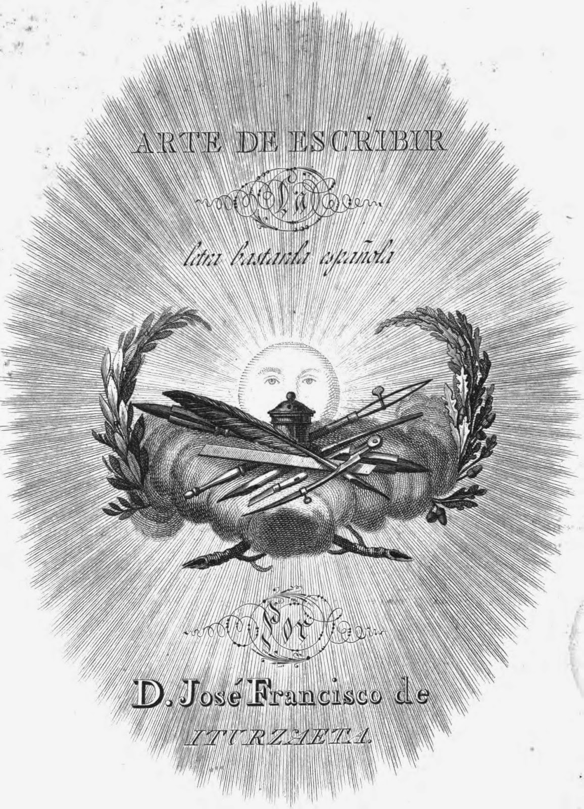 Arte de escribir la letra bastarda española (José Francisco de Iturzaeta) (1827).pdf 4.9 MB