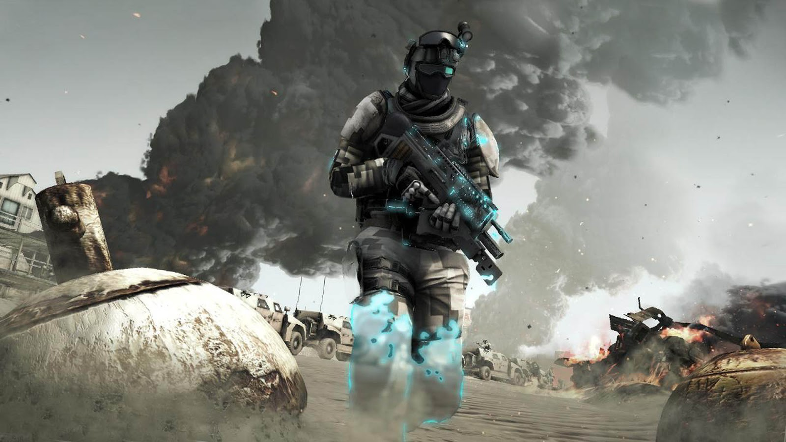 Ghost Recon Future Soldier HD & Widescreen Wallpaper 0.41837645077197