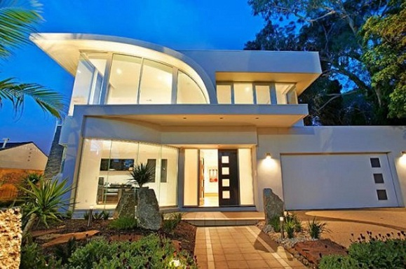 Beautiful modern homes designs exterior for Best home designs australia