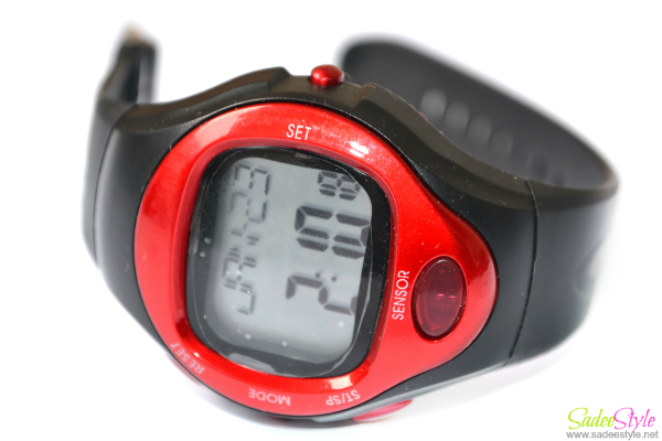 Pulse Heart Rate Counter Calories Monitor Watch