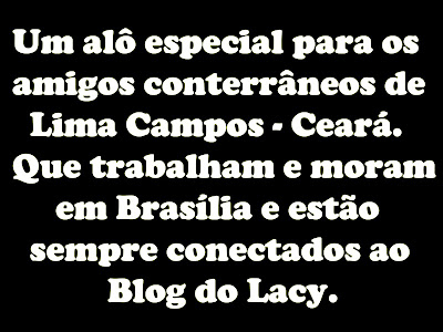 AOS LIMACAMPENSES DE BRASÍLIA COM CARINHO...