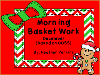 http://www.teacherspayteachers.com/Product/Morning-Basket-Work-December-698256