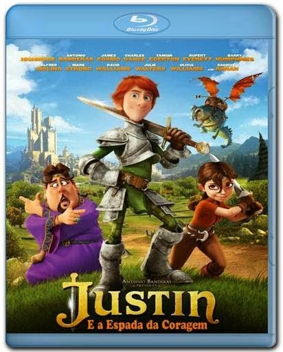 Justin e a Espada da Coragem AVI BDRip Dual Audio + RMVB Dublado + BRRip + Bluray 720p e 1080p + 3D