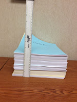 5 inch stack of documents