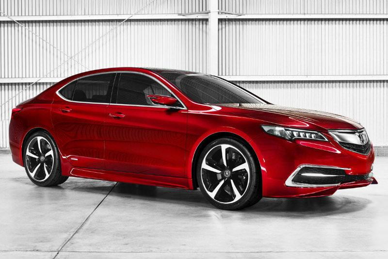 Acura TLX Concept Car 2015