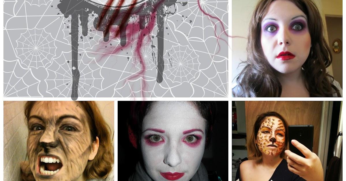 top 5 des maquillages d 39 halloween les plus populaires sur mon blog etre radieuse par josianne. Black Bedroom Furniture Sets. Home Design Ideas