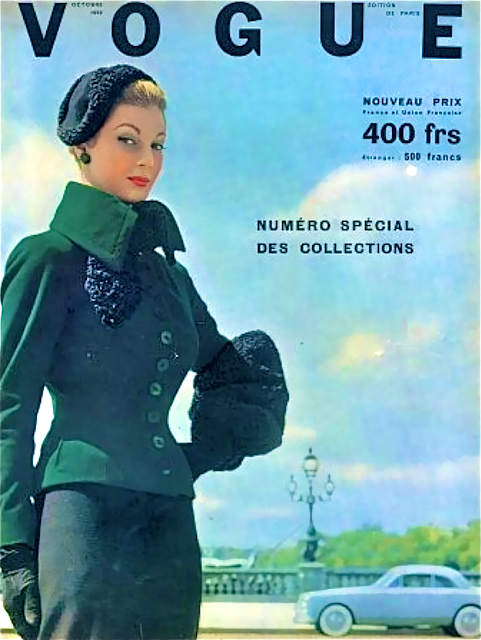 Vogue Francesa 1952 - Outubro