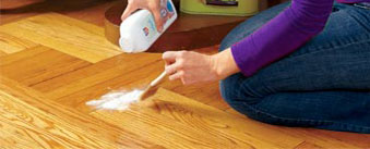 how to stop squeaky floorboards