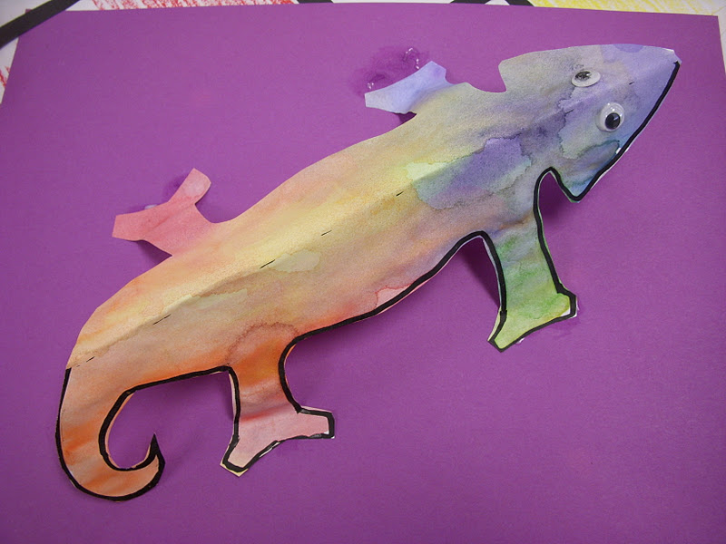 a color of his own 3 d chameleons - A Color Of His Own Book