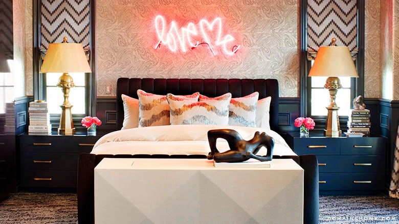 neon signs interior design