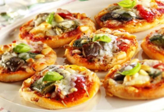 Mini pizza aux l gumes cuisine algerienne - Recette de cuisine algerienne moderne ...