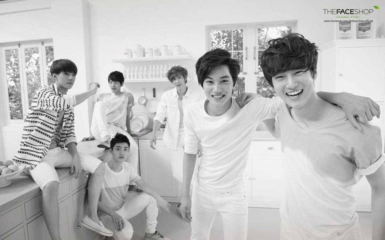 Exo K Pop Boy Band HD Wallpaper