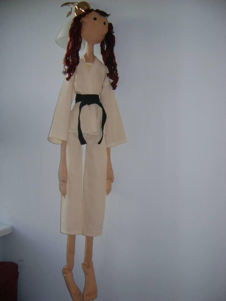 Сшить кимоно на куклу