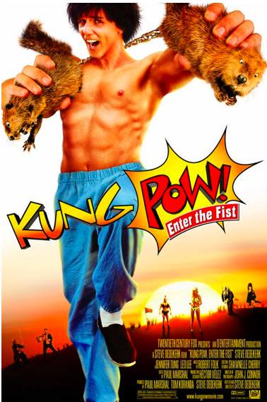 DVD Challenge #4: KUNG POW: ENTER THE FIST