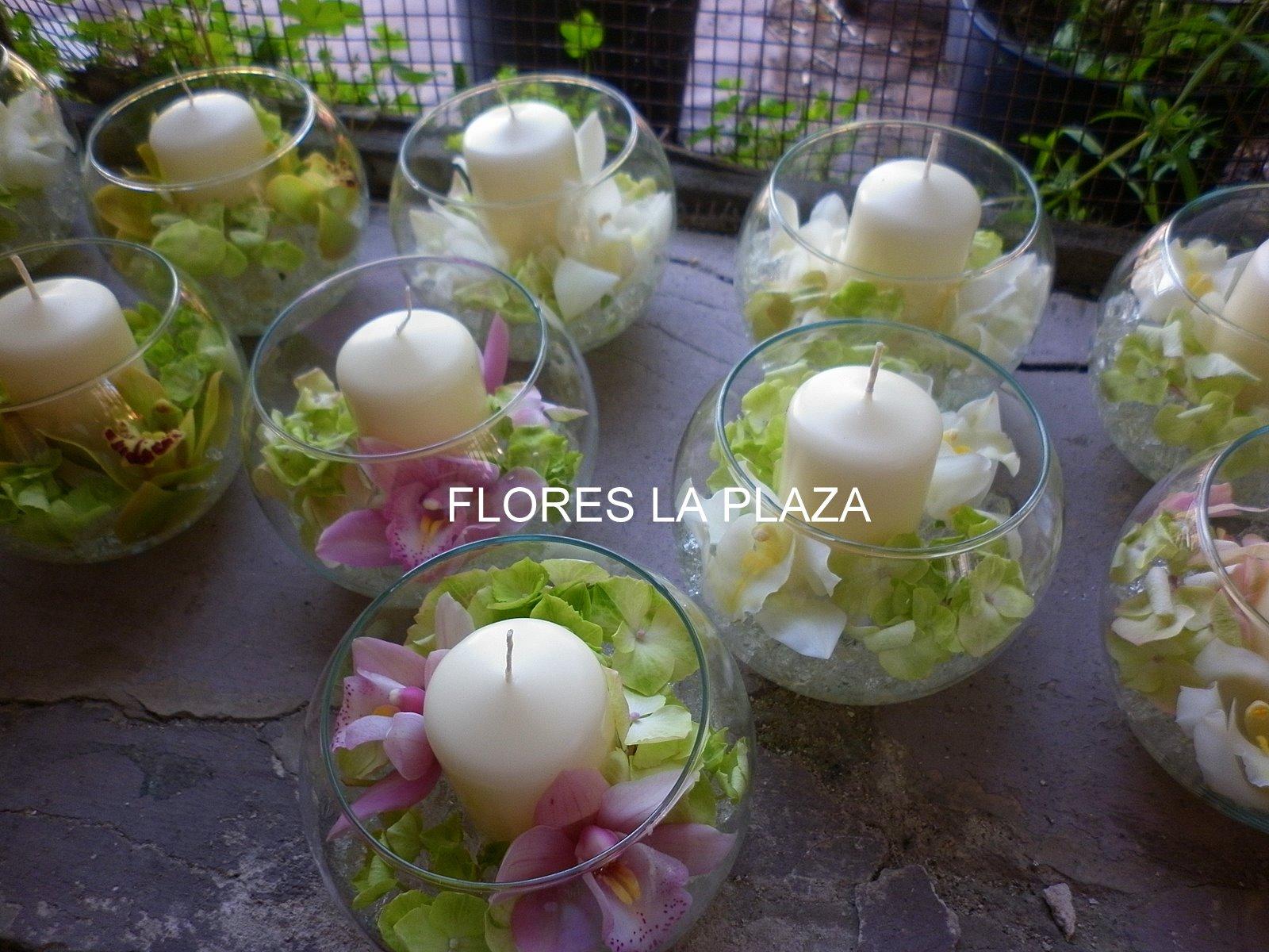 Bodas la plaza cangas del narcea asturias flores para for Centros de mesa para restaurantes