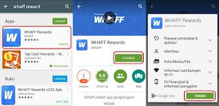 Cara Mendapatkan Uang Dollar dari Hp Android Tanpa Modal Memakai WHAFF dan WHAFF TRICK NOT HACK NO ROOT NEEDED