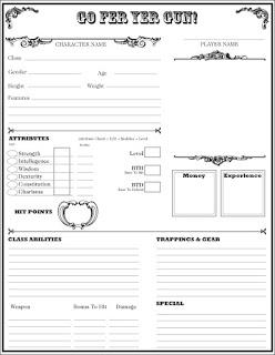 Go Fer Yer Gun! Character Sheet