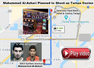 VIDEO: Tampa terrorist Muhammed Al-Azhari plan to shoot up Hard Rock Casino, PI Bill Warner