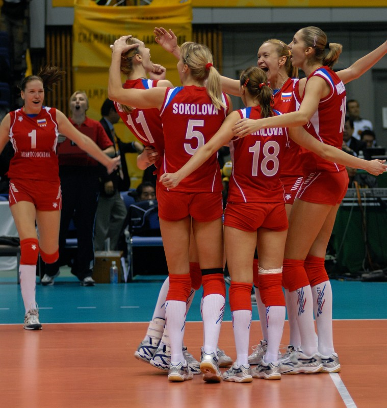 russia volleyball team roster