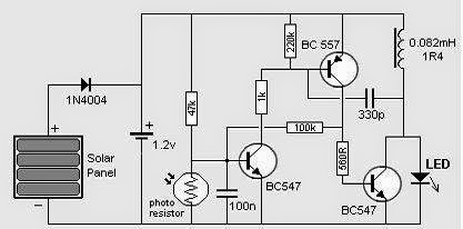 Solar Circuit Diagram