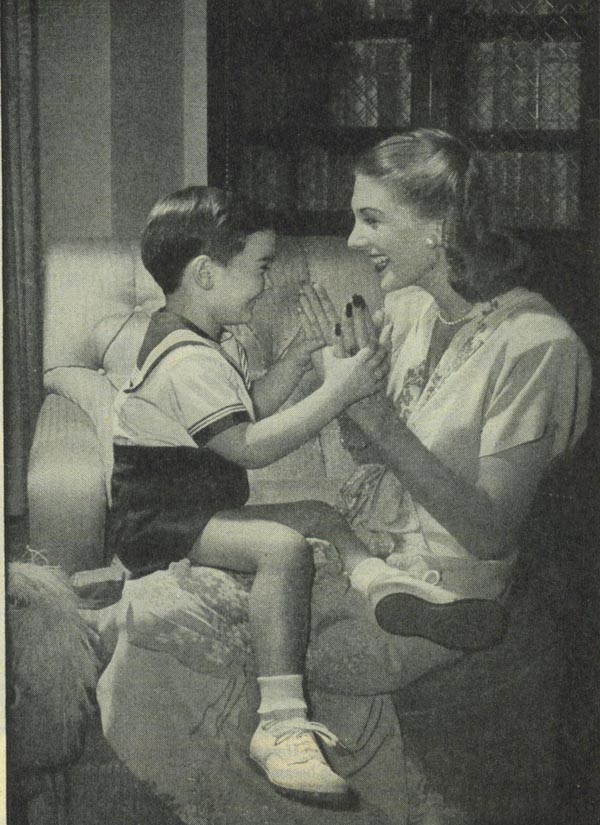 Mom And Son Vintage