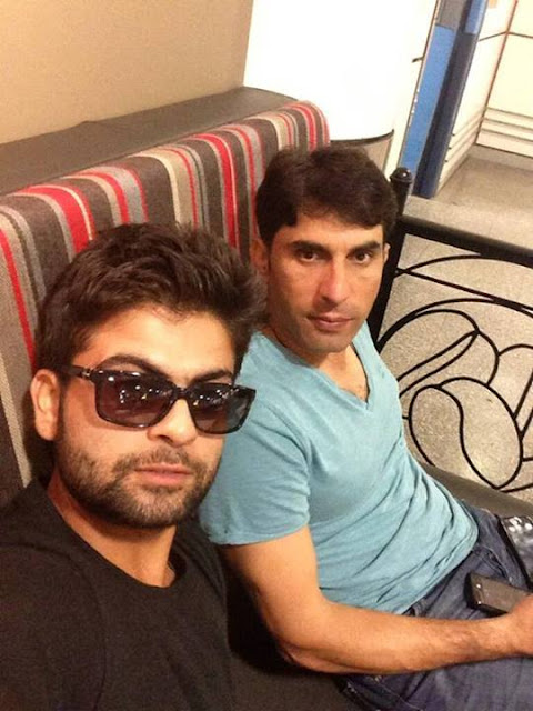 Pakistani Cricket Star Ahmed Shehzad Latest Pictures