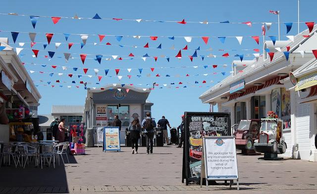 Weston Super Mare Grand Pier bunting