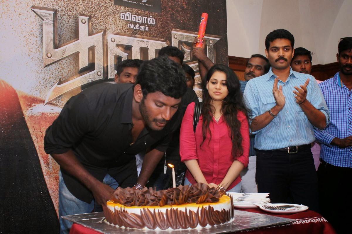 Vishal Birthday Press Meet