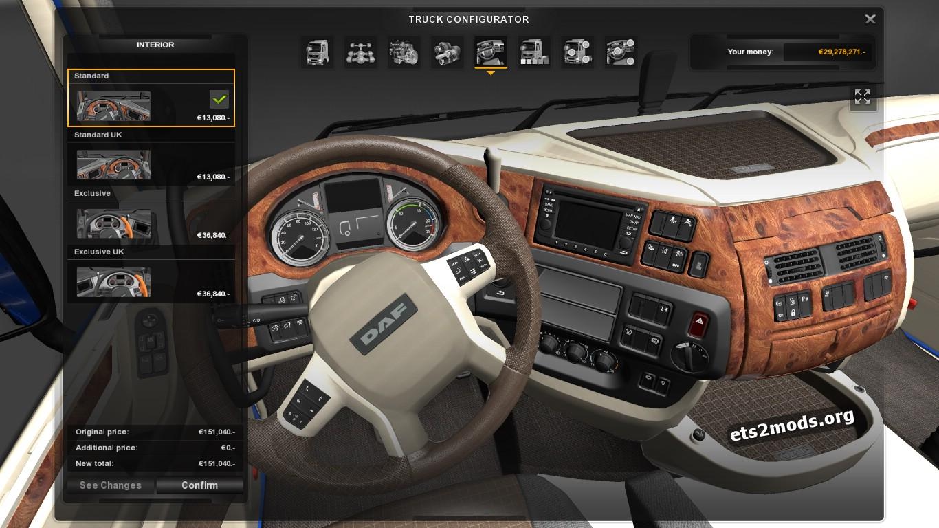 Daf euro 6 interior by dada ets2 mods for Daf euro 6 interieur