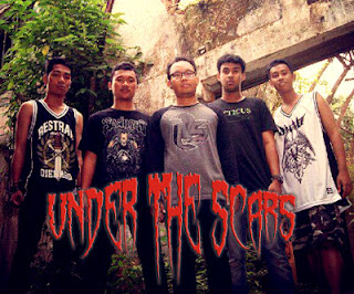 Under The Scars Band Hardcore / Metalcore Tenggarong Kalimantan Timur Foto Logo Wallpaper