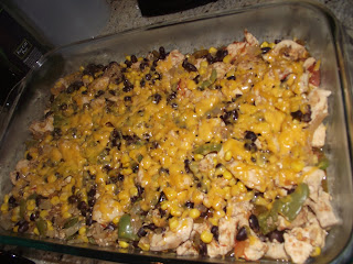 Tales from Astoria: Black Bean, Corn and Chicken Casserole
