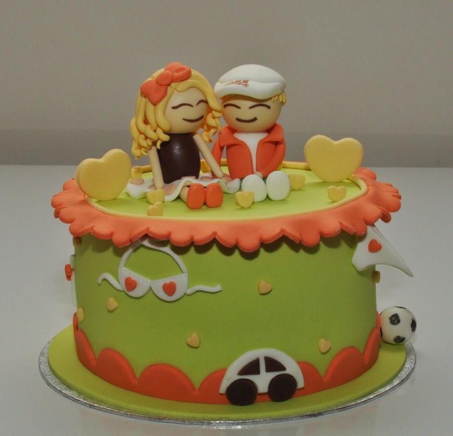 Bánh kem sinh nhật đẹp tặng người yêu
