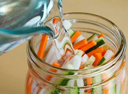 Cách làm dưa góp su hào cà rốt giòn ngon 2