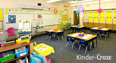 Happy and Bright Classroom