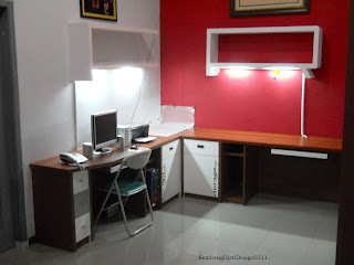 meja belajar - workstation table semarang