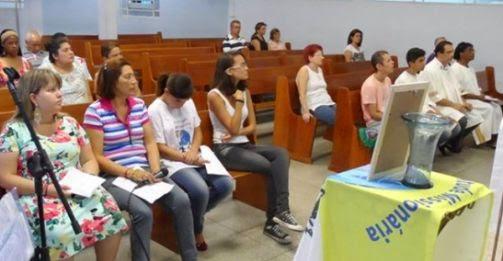 JM da Diocese de Guarulhos reza pela pela sua fundadora, Paulina Jaricot