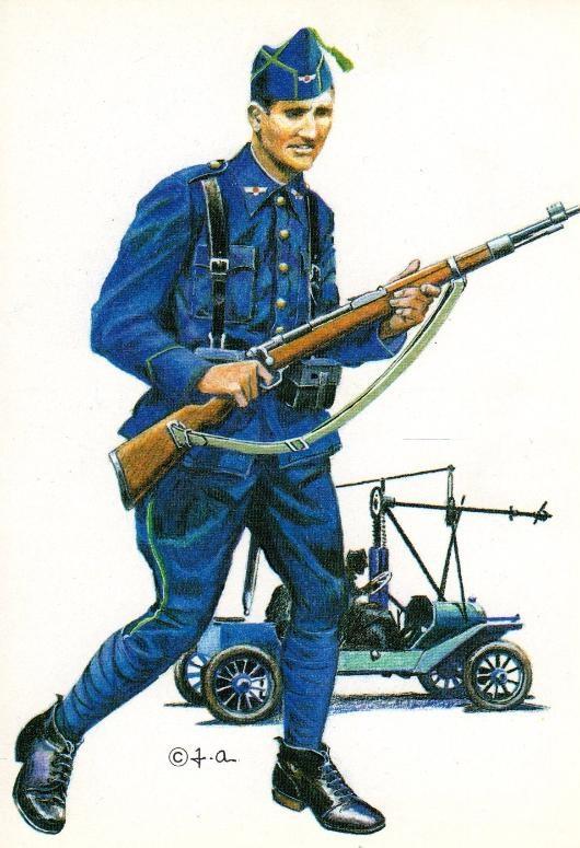 Histoire uniforme de la guerre civile
