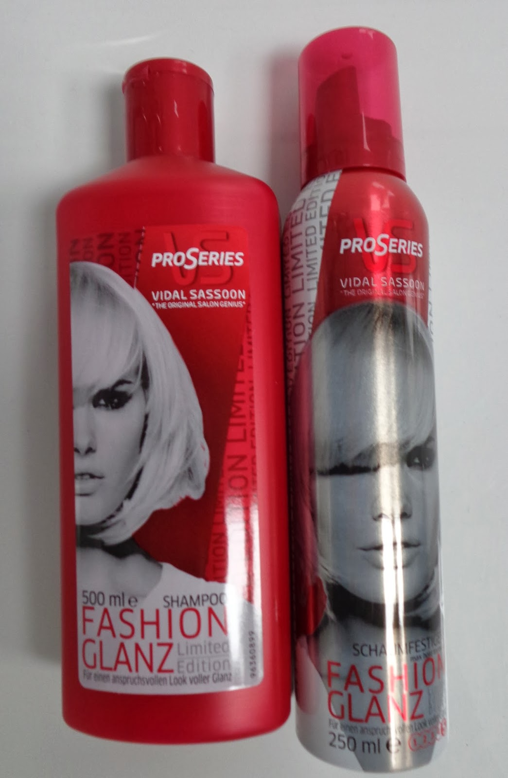 Fashion Glanz; Shampoo; Schaumfestiger