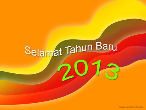 Desain Kartu Ucapan Tahun Baru 2013