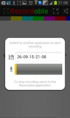 EASY screen recorder 4.2.0.3 Rekam Layar Android Tanpa ROOT