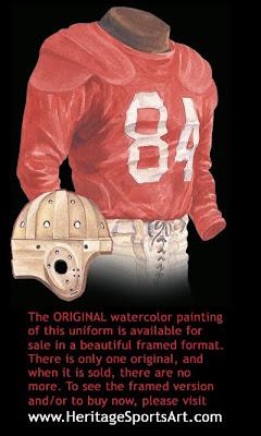 San Francisco 49ers 1948 uniform