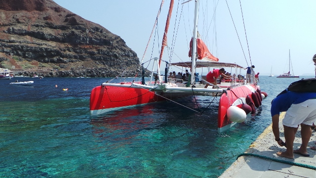Cruising To Europe On The Dawn Princess 40 Sailing In Santorini Delectable Dream Catcher Boat Santorini