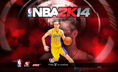 NBA 2K14 Steve Nash Game Cover Screen Mod