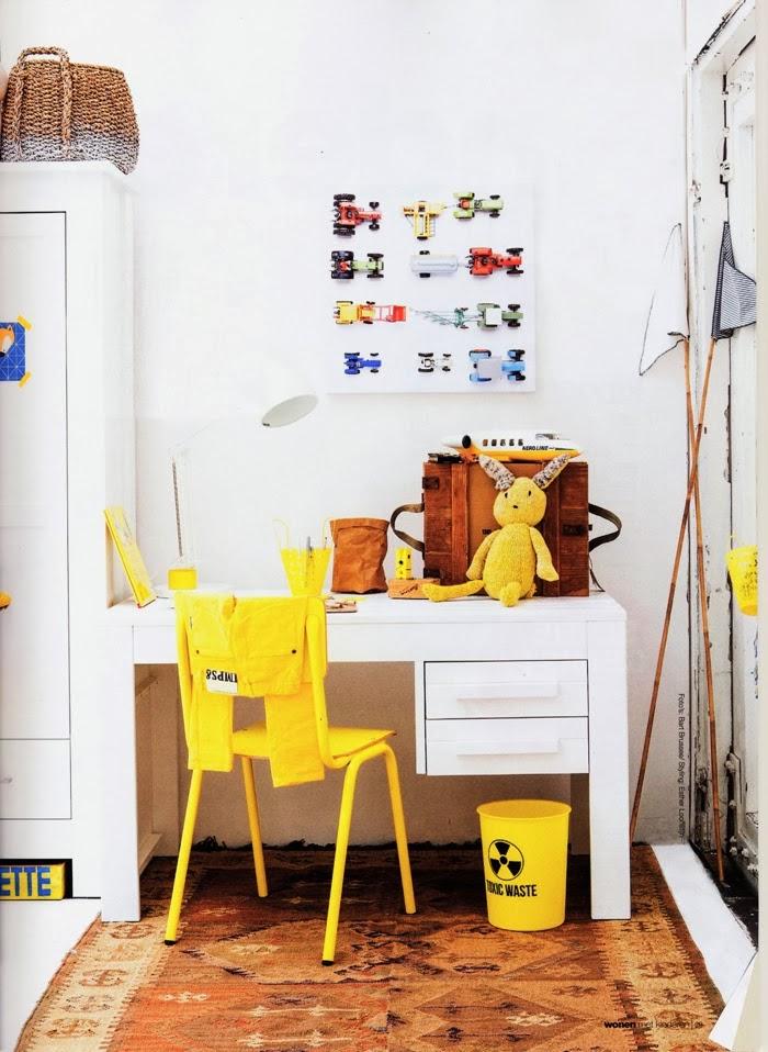 Decoración fácil: un dormitorio infantil vintage con muebles ...