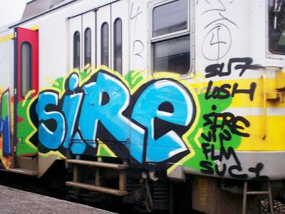 graffiti SIRE