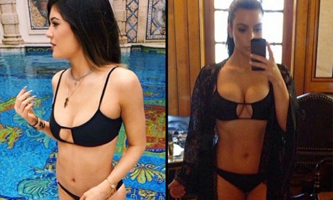 gallery kardashian sexy swimsuit selfies