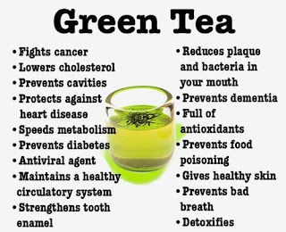 green tea advantages