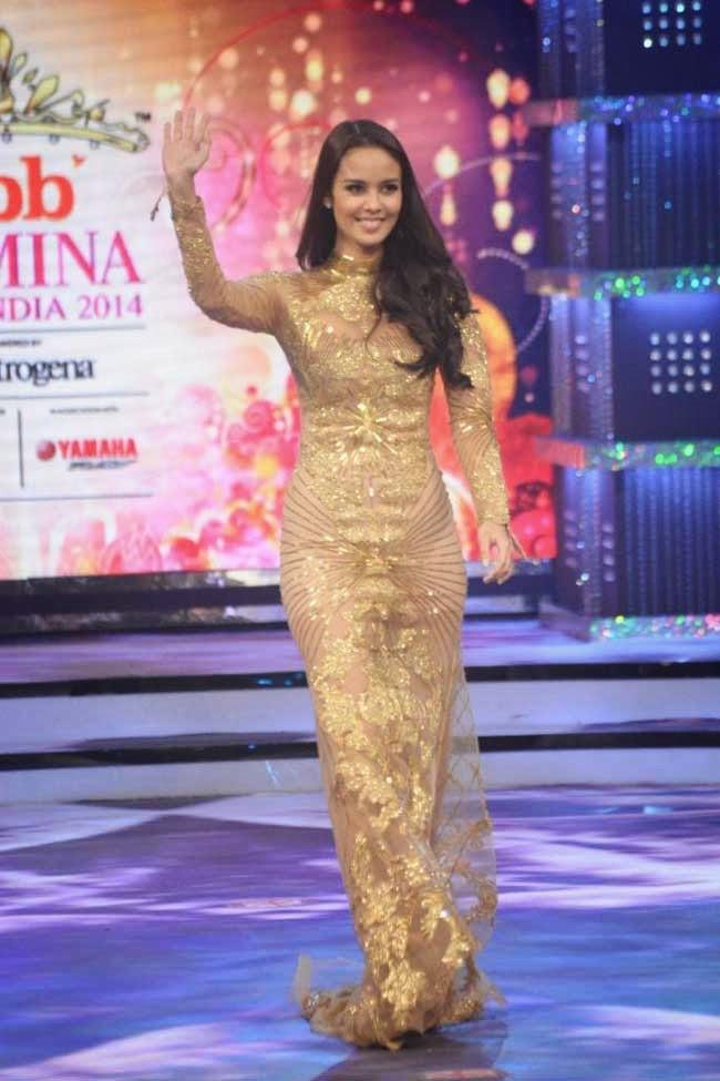 Megan Young at fbb Femina Miss India 2014