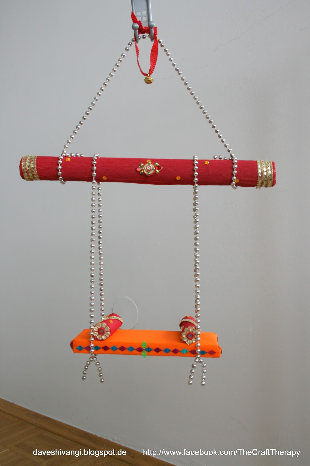 ... of jhula/cradle I prepared for my Little krishna. I hope you like it