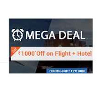 Goibibo  Deal : Flight & hotel booking Flat Rs.1000 Off On Rs.5000 :buytoearn